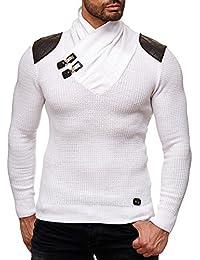 Redbridge Herren Strickpullover V-Neck Sweatshirt Jacke Größe L