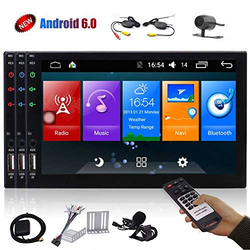 EINCAR Android 8.1 Unidad Principal del Coche est/éreos Oreo con 7 Pulgadas de Pantalla t/áctil Completa del Jugador en el Tablero de Soporte Doble DIN Bluetooth Autoradio GPS Unidad Principal