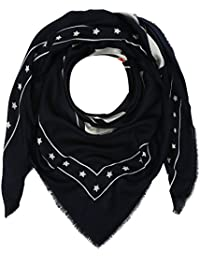 Womens Thd Tommy Loves Scarf, Green (Sea Moss 323), (Manufacturer Size: One Size) Tommy Hilfiger