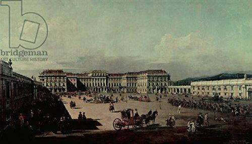 "Poster-Bild 120 x 70 cm: ""Schloss Schonbrunn, 1759-60 (oil on canvas)"", Bild auf Poster"