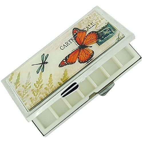 pill-box-orange-butterfly-silvertone-compact-rectangle-7-day-pill-box-sc884