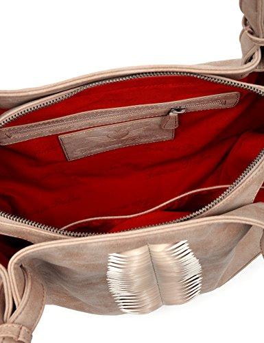 Fritzi aus Preußen Damen Calida Business Tasche, 14 x 31 x 40 cm Alpacca