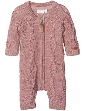 NAME IT Baby - Mädchen Spieler Nbfwrilla Wool Ls Knit Suit Noos