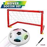 Joy-Jam Geschenke für 4-7 Jahre alte Jungen, Hover Fußball Bälle Set mit 2 Tore Air Fußbälle Kinder Spielzeug für Innen und Außen