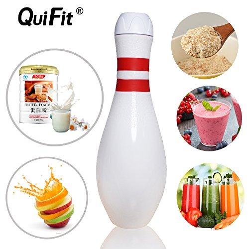 ng Pin Flasche Bowling Wasser Flasche Fitness Wasser Krug–BPA-frei, weiß (Bowling Pin Flasche Wasser)