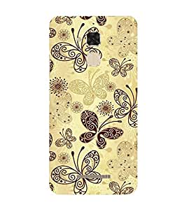 99sublimation golden butterflies creative designs Designer Back Case Cover for Asus Zenfone Max ZC550KL :: Asus Zenfone Max ZC550KL 2016 :: Asus Zenfone Max ZC550KL 6A076IN
