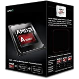 AMD APU A6 6400K Black Edition Core Processor (Socket FM2, Dual Core, 3.9GHz, 1MB, 65W, AD640KOKHLBOX, Richland, Turbo Core 3.0 Technology, Virtualization Technology)