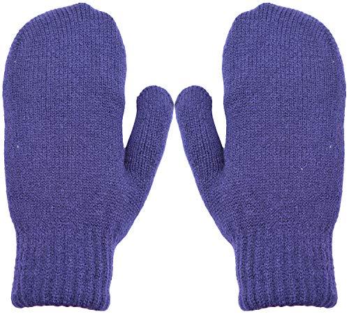 Wooly Bugged Damen Winter Fäustlinge Stricken Handschuhe Wolle -