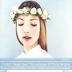 Vivaldi : Vespri per l'Assunzione di Maria Vergine