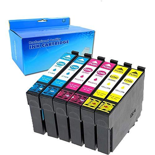 Ouguan   6 cartuchos tinta compatibles Epson 29XL