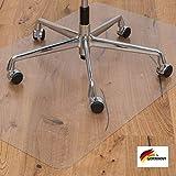 KAISER PLASTIC Bodenschutzmatte | Made-In-Germany | für Hartboden | 90 x 120 cm | aus PET