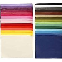 Blatt 50 x 70 cm verschiedene Farben zur Auswahl 25 Blatt Seidenpapier 14 g