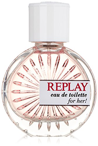 Replay Woman femme/woman, Eau de Toilette, Vaporisateur/Spray, 40 ml (Femme Eau De Toilette Spray)