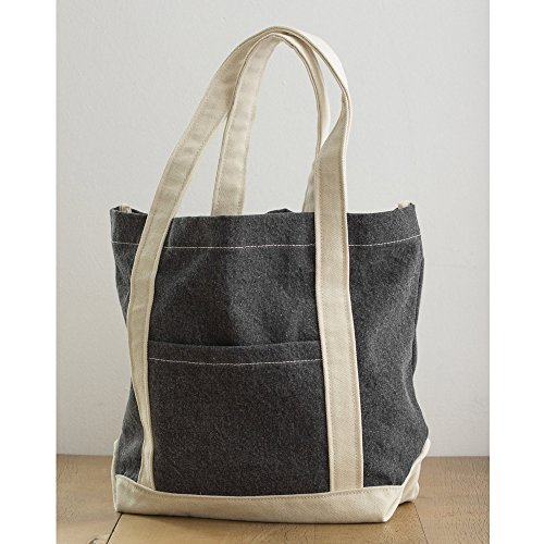 Bags - sac de courses JASSZ (Taille unique) (Noir/beige)