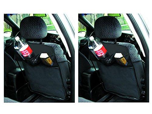 2 X Rückenlehnenschutz Sitzschoner Organizer Folie