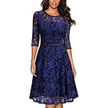 finest selection db264 a2adb Suchergebnis auf Amazon.de für: Faltenrock Kleid - Miusol