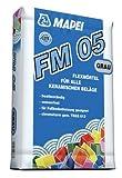 Mapei FM 05 Flexklebemörtel, Grau für Verlegung von Feinsteinzeug, keramischen Fliesen und Platten sowie aller Arten von Mosaiken usw. 25kg