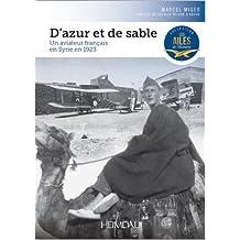 D'azur et de sable : Un aviateur français en Syrie en 1923