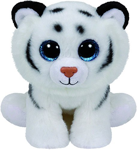 Ty Beanie Babies - Tundra the White Tiger - 15cm by Ty Inc.