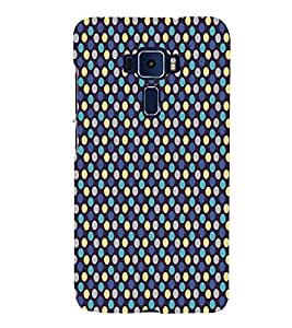 Fuson Designer Back Case Cover for Asus Zenfone 3 Deluxe ZS570KL (5.7 Inches) ( Ethnic Pattern Patterns Floral Decorative Abstact Love Lovely Beauty )