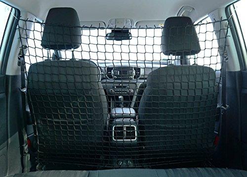 Universaler Auto Netz Haustier Barrier Sicherheitsnetz Rücksitz Barriere Trennnetz 110x135 cm [058]
