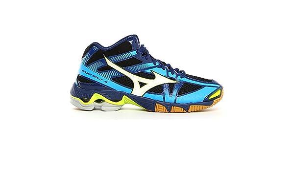 co Shoes Mizuno Schoenen 6 Amazon Bolt Heren Volleybalschoenen Wave Blauw Mid Bags uk pwqPrzxp