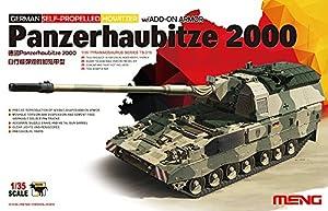 Meng - «Modelo 1: 35Ger Panzerhaubitze 2000, obús blindado auropropulsado