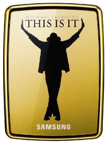 Samsung S2 Portable externe Festplatte 500GB (6,4 cm (2,5 Zoll), USB 2.0) gold (im Michael Jackson Design inkl. Film 'This Is It')