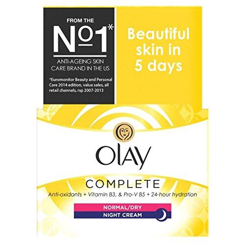 Preisvergleich Produktbild Olaz Essentials-Complete Care Feuchtigkeitscreme Nachtcreme 50 ml