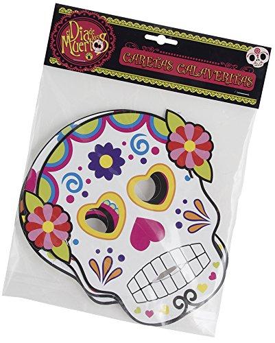 El Día de los Muertos Der Tag der Toten-Masken * Bride, Einheitsgröße (Rubie 's Spain S3185) (El Dia De Los Muertos Halloween-kostüme)
