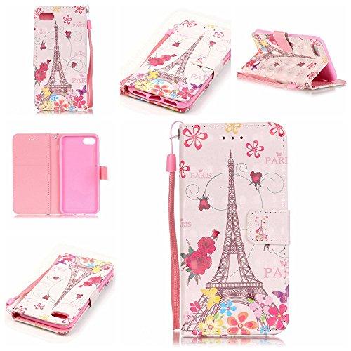 Eine Vielzahl von Farben XFAY HX-455 iPhone 7 Handyhülle Case für iPhone 7 Hülle im Bookstyle, PU Leder Flip Wallet Case Cover Schutzhülle für Apple iPhone 7-10 Farbe-21