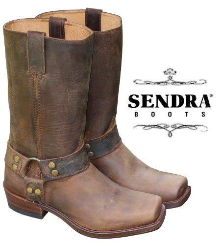 sendra-8833-bottes-de-motard-marron-effet-antique-marron-braun-mad-dog-tang-lavado-taille-43-eu