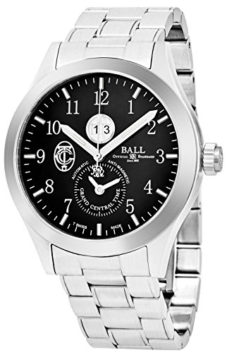 BALL MEN'S 44MM STEEL BRACELET & CASE AUTOMATIC BLACK DIAL WATCH GM2086C-S2-BK