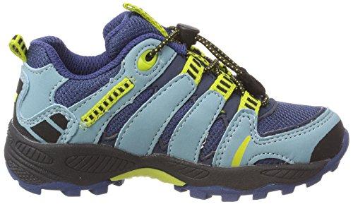 Lico Fremont, Chaussures D'escalade Bleues Pour Enfants Unisexes (marine / Blau / Citron Marine / Blau / Citron)