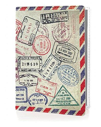 OPTEXX® RFID Reisepass-Hülle TÜV geprüft & zerifiziert   Grenzland   Ausweis-hülle   Schutzhülle   Schutz-Etui   Pass-hülle   aus Vegi Leder sicheres Blocking Passport