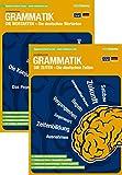 mindmemo Lernfolder 2er Set - Die deutschen Zeiten und Wortarten - Grammatik Zusammenfassung Lernhilfe PremiumEdition (foliert)