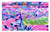 #8: Pink Printed Cotton Fabric Natural Running Fabric Dress Making Fabric 58