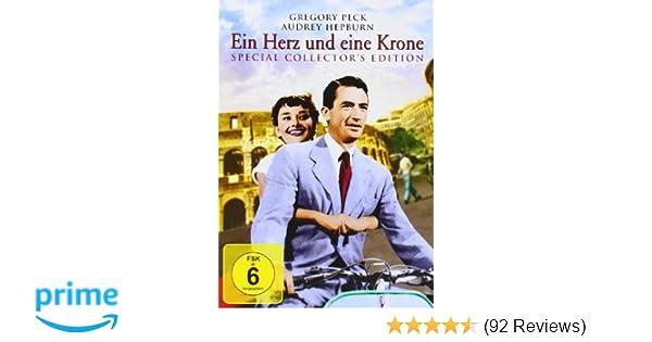 Ein Herz Und Eine Krone Amazonde Gregory Peck Audrey Hepburn