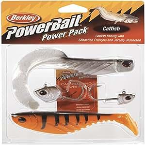 Berkley powerbait powerpack catfish pro packFarbe assorties-longueur :  16 cm/poids 30 & 40 g