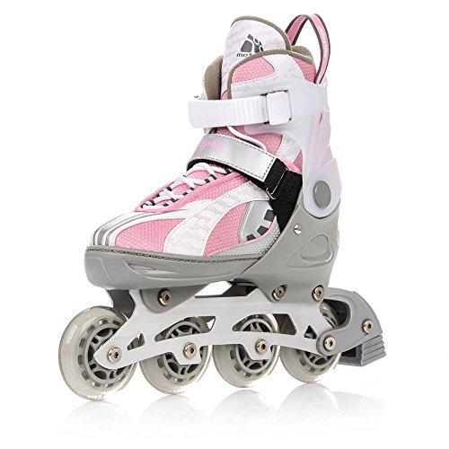 METEOR® LOLLIPOP 2 in 1 Inline Skates / Schlittschuhe | Kinder | Damen | Herren | Größenverstellbar 33-36 / 37-40 / 40-43 | ABEC 7