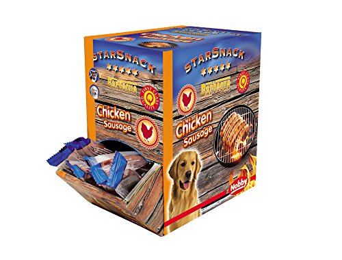 Nobby Starsnack Barbecue Chicken Sausage, 1er Pack (1 x 640 g) -