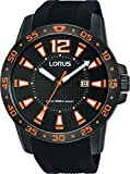 Lorus Reloj Analógico para Unisex Adultos de Cuarzo con Correa en Silicona RH931FX9