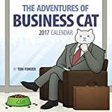 Business Cat (Square Wall)