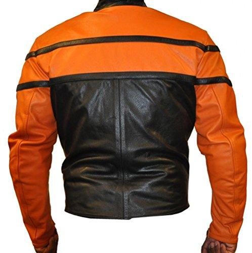 KFire - Blouson - Homme Cowhide Orange