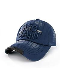 Casquette de Baseball Motif de Pentacle Homme Casquette de Moto, Chapeau de Style Ancien
