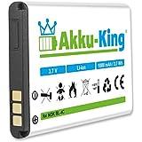 Akku-King Akku ersetzt Nokia BL-4C - Li-Ion - für 6260, 6300, 6300i, 6301, 6066, 7200, 7270