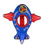 Kind PVC Karikatur Schwimmen Ring Kleinkinder und Kleinkinder Dicker Aufgeblasen Flugzeug Yacht 1-5 Jahre alt Baby Sitzen auf dem Kreis