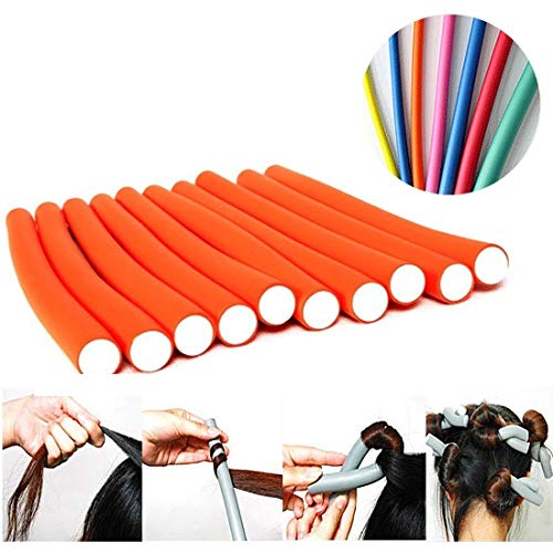 AY Hair Foam Rollers Soft Twist Curler Rods for Your...