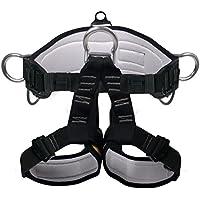 mhgao imbracatura da arrampicata, sicurezza Cinture per Alpinismo esterno Band Fire Rescue lavoro