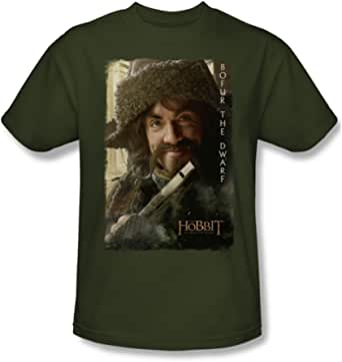 The Hobbit-Bofur-Maglietta da uomo, colore: verde militare